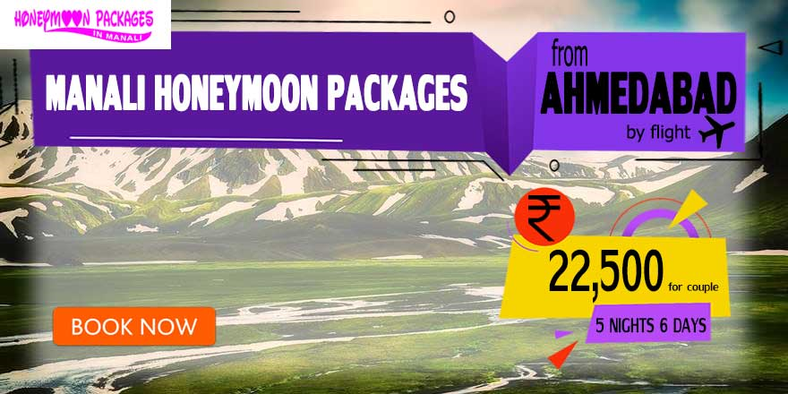 Manali couple package from Ahmedabad