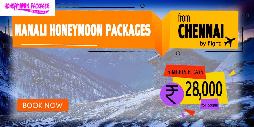 Manali couple package from Chennai