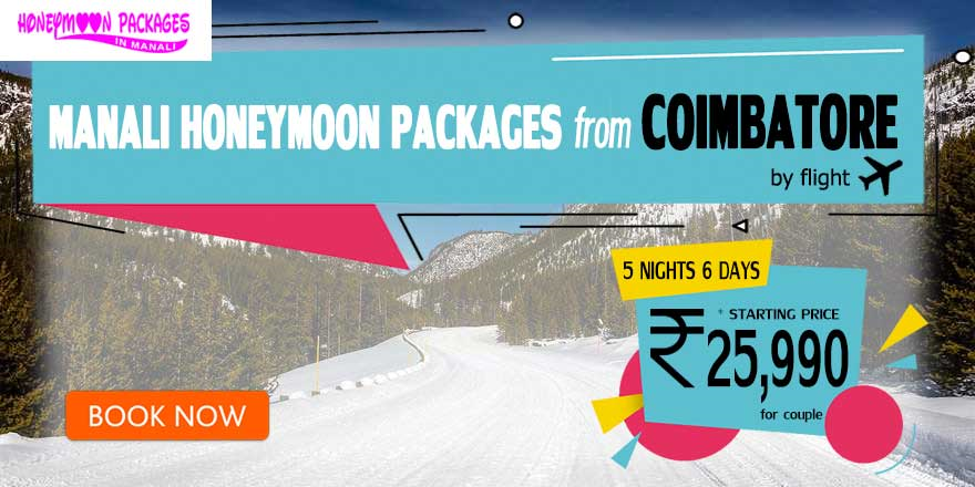 Manali couple package from Coimbatore