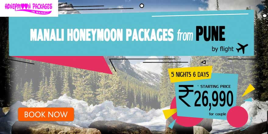 Manali couple package from Pune