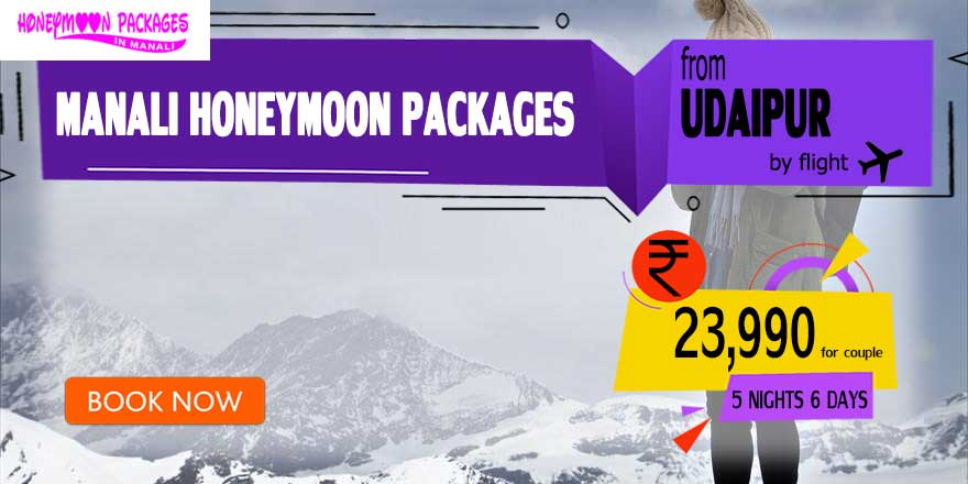 Manali couple package from Udaipur